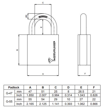 G-szériás lakatok, Mul-T-Lock G-széria